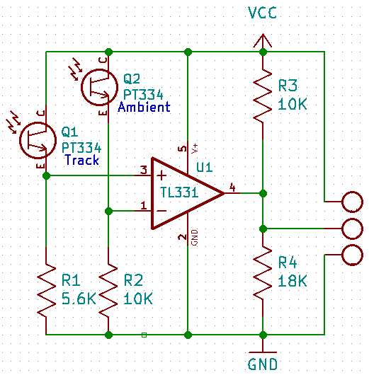 opdetector circuit